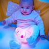 Veilleuse bébé lumilove barbapapa rose Pabobo