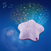 Veilleuse bébé projecteur d'étoiles à piles violet Pabobo