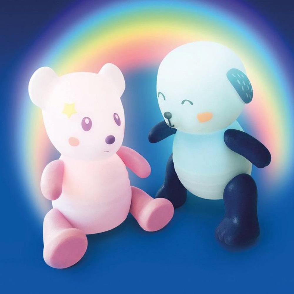Pabobo Lolabella Lumilove Veilleuse-Jouet Rainbow Souris