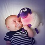 Veilleuse bébé ewan le mouton rêveur de Pabobo