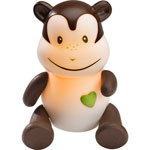 Veilleuse bébé lumilove savanoo singe pas cher