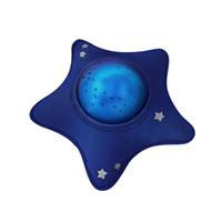 Veilleuse bébé projecteur dynamique aqua peluche étoile bleu