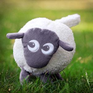Pabobo Veilleuse bébé ewan le mouton rêveur gris