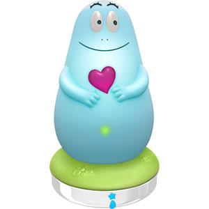 Pabobo Veilleuse bébé lumilove barbapapa bleu