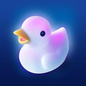 Pabobo Jouet de bain lumilove ducky lumineux