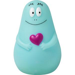 Pabobo Veilleuse bebe lumilove barbapapa usb bleu