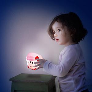 Pabobo Veilleuse bébé lumilove madame câlin