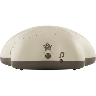 Veilleuse bébé projecteur d'étoiles à piles taupe Pabobo