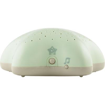 Veilleuse bébé projecteur d'étoiles musical vert nature Pabobo