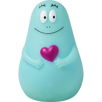 Veilleuse bebe lumilove barbapapa usb bleu Pabobo