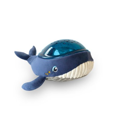 Veilleuse bébé projecteur dynamique effet aquatique baleine Pabobo