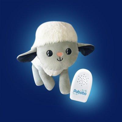 Peluche bébé aide au sommeil milo le mouton Pabobo