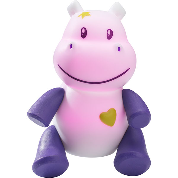 Veilleuse bébé lumilove savanoo hippo Pabobo