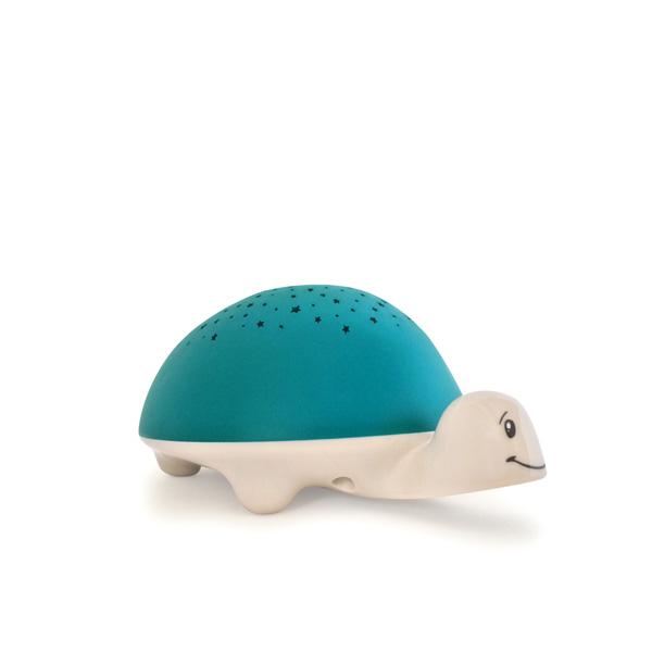 Veilleuse bébé projecteur d'étoiles à piles tortue Pabobo