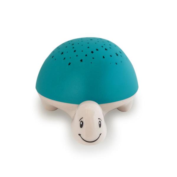 Veilleuse projecteur d'étoiles à piles tortue Pabobo
