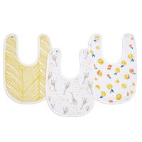 Lot de 3 bavoirs starry star