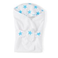 Cape de bain étoiles bleues fluos