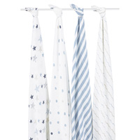 Lot de 4 maxi-langes rock star