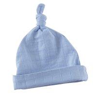 Bonnet bébé brunnera blue