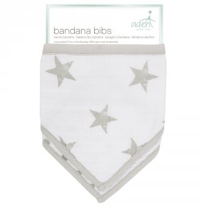 Aden by aden+anais Lot de 2 bavoirs bandana dusty
