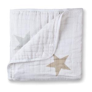 Couverture lit bébé super star scout étoiles