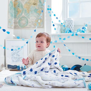 aden + anais Couverture bébé high seas