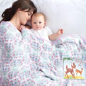 aden + anais Couverture bébé bambi
