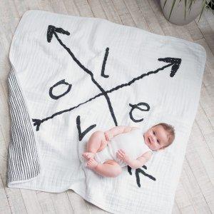 aden + anais Couverture bébé lovestruck