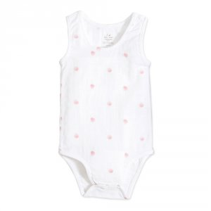 Body sans manche rose water dot tank