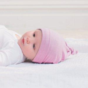 aden + anais Bonnet bébé pink mist