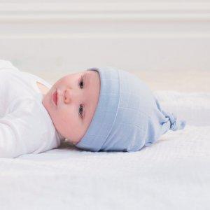 aden + anais Bonnet bébé brunnera blue