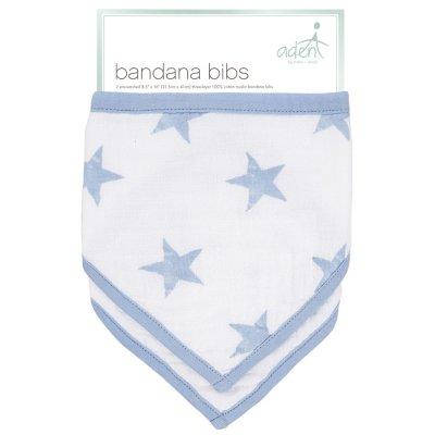 Lot de 2 bavoirs bandana dapper Aden by aden+anais