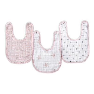 Lot de 3 bavoirs Aden+anais essentials