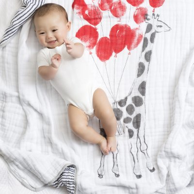 Couverture bébé dream rider Aden + anais