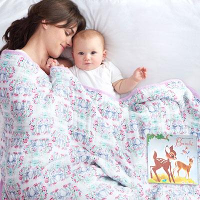 Couverture bébé bambi Aden + anais