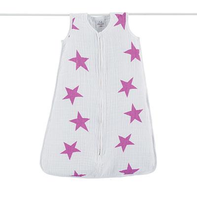 Gigoteuse été étoiles roses fluo 12-18 mois Aden + anais