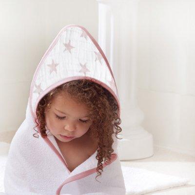 Sortie de bain bébé doll Aden by aden+anais