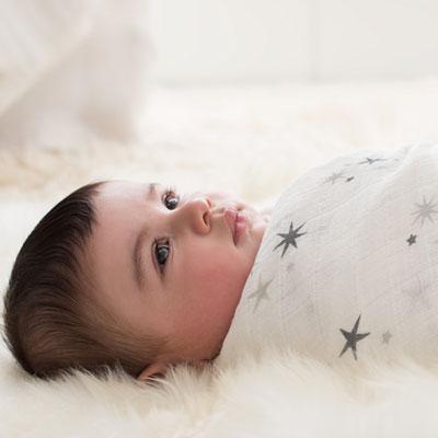 Maxi-lange star cluster Aden + anais