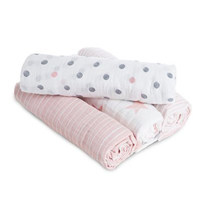 Lot de 4 maxi langes Aden by aden+anais