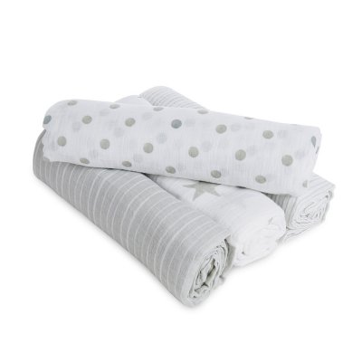 Lot de 4 maxi-langes dusty Aden by aden+anais