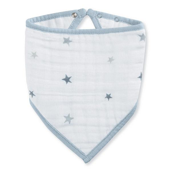 Bavoir bandana twinkle étoiles grises Aden + anais