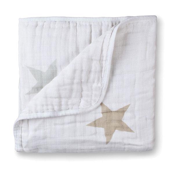 Couverture lit bébé super star scout étoiles Aden + anais