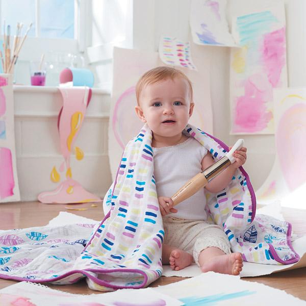 Couverture bébé wink Aden + anais