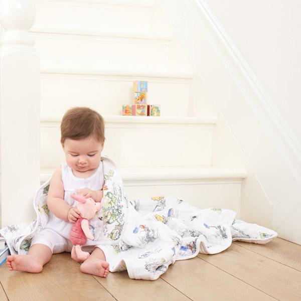 Couverture bébé winnie Aden + anais