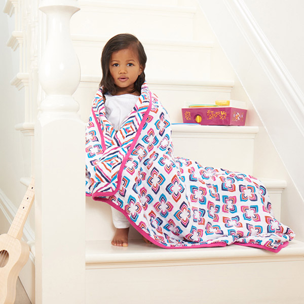 Couverture bébé flip-side Aden + anais