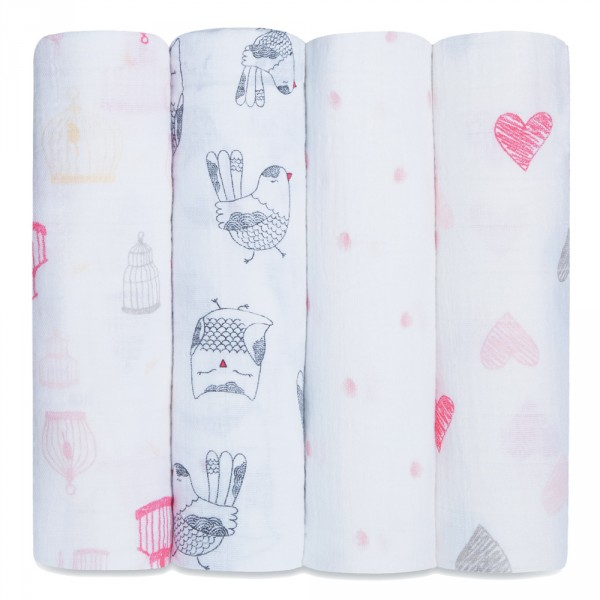 Lot de 4 maxi-langes lovebrid Aden + anais