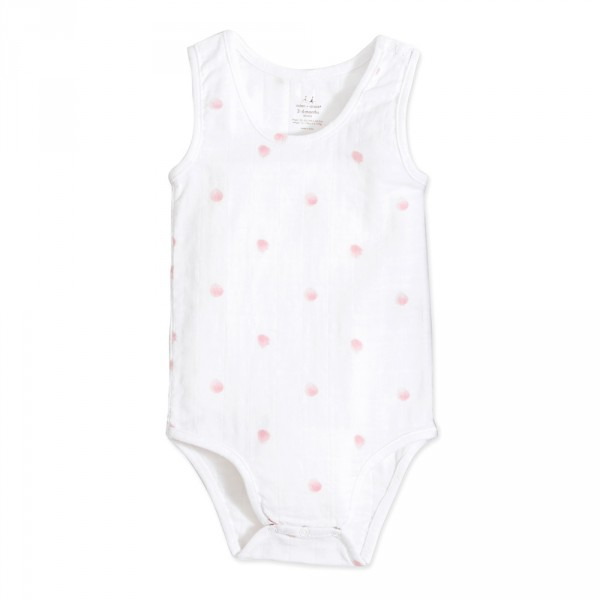 Body sans manche rose water dot tank Aden + anais