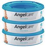 Lot de 3 recharges pour poubelle à couches angelcare pas cher