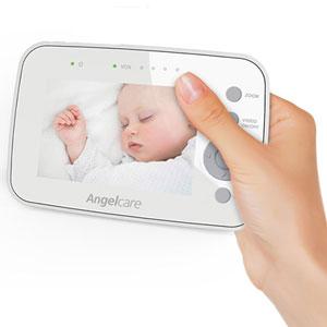 Angelcare Babyphone moniteur vidéo, mouvements et sons ac1300
