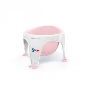 Anneau de bain bébé blanc/rose